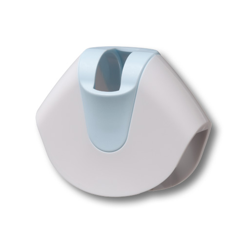Precision cap, white/blue