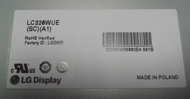 LC320WUE-SCA1 LCD DISPLAY LC320WUE-SCA1