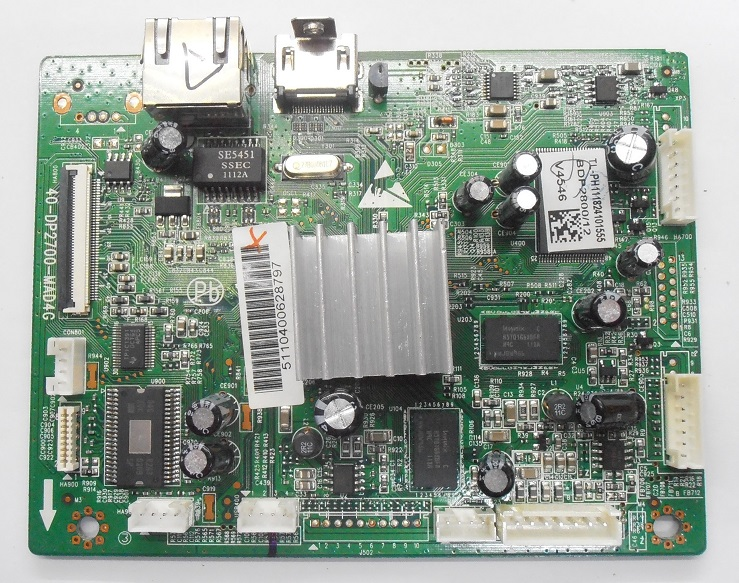 MAINBOARD BLURAY PHILIPS BDP2800/12