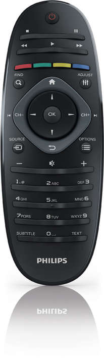 Dove si mettono le pile in questo telecomando philips for Philips telecomando