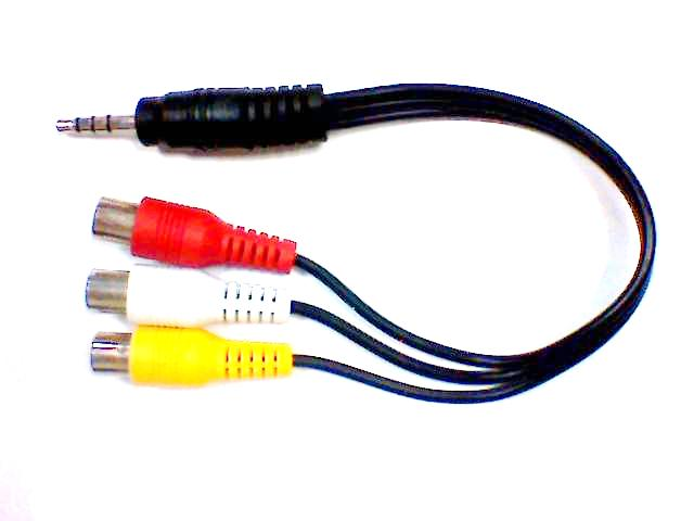 CAVO AUDIO VIDEO jack RCA