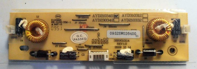 INVERTER BOARD ASS'Y AYD210340