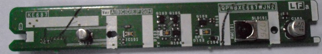 IR RECEIVER PER TV LCD SHARP LC52-DH65E (USATA)
