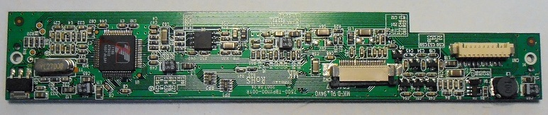 LCD BOARD ASSY UNITED DVT-7048A
