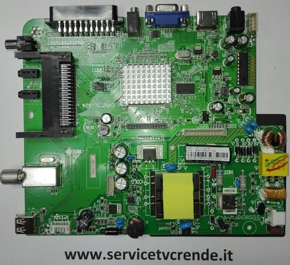 MAIN BOARD CV9202L-A24 TVD-224LED MP02 (USATA)