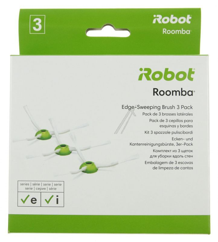 IROBOT ROOMBA E & I SERIE SIDE BRUSH 3 PACK